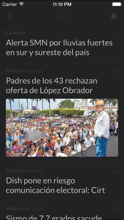 Periódicos MX - Los mejores diarios y noticias de la prensa en México screenshot-4