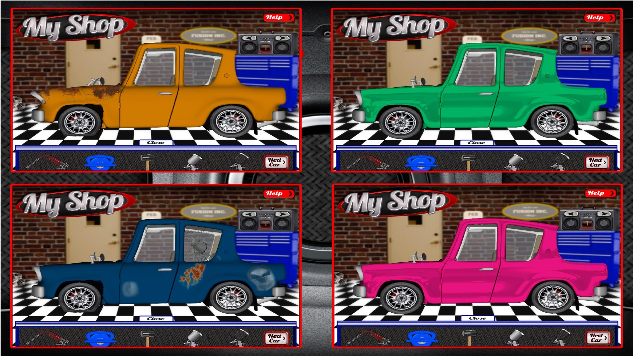 My Shop Car Mechanic - Kids Car Repair Game Screenshot