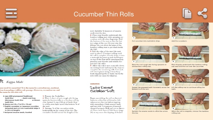 Sushi Recipes screenshot-3