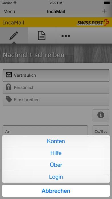 IncaMailScreenshot von 3