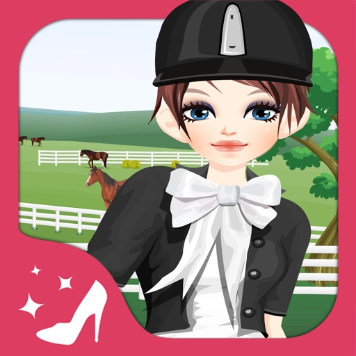 Horse Fan Girls - Dress up  and make up game for kids who love horse games iOS App
