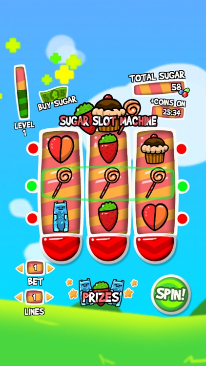 Sweet casino slot machine. Candy slots to win big! screenshot-3