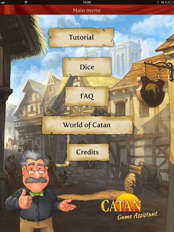 Catan Game Assistant for iPad