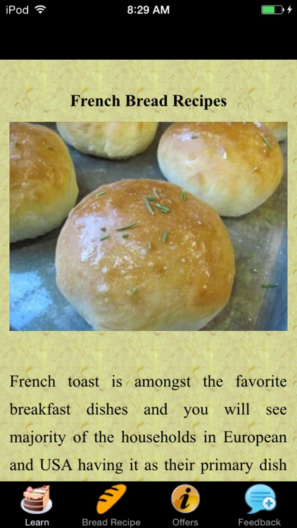 French Bread Recipes - Homemade screenshot-0