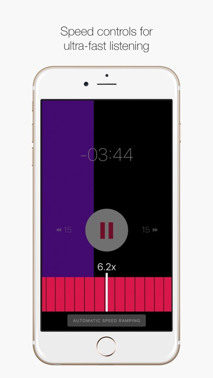 Rightspeed - The Speed Listening App