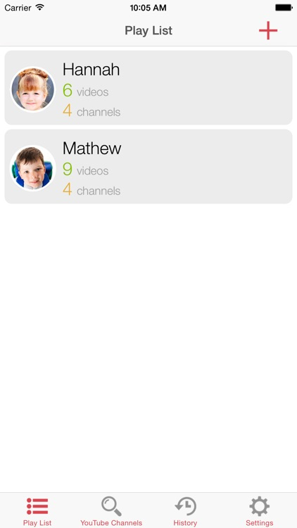 SafeTube (Video playlist manager for YouTube for kids safe video watching)