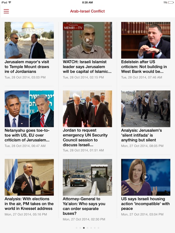 The Jerusalem Post. iPad Edition screenshot-2