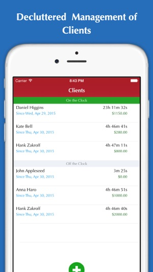 Time Tracker Hours Tracking Timesheet Invoice Billing On The - Invoice tracking app