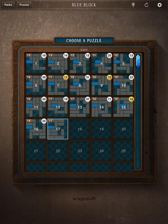 Blue Block FREE for iPad screenshot-4