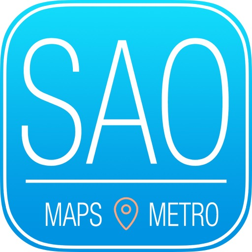 São Paulo Travel Guide with Metro Map and Route Planner Navigator