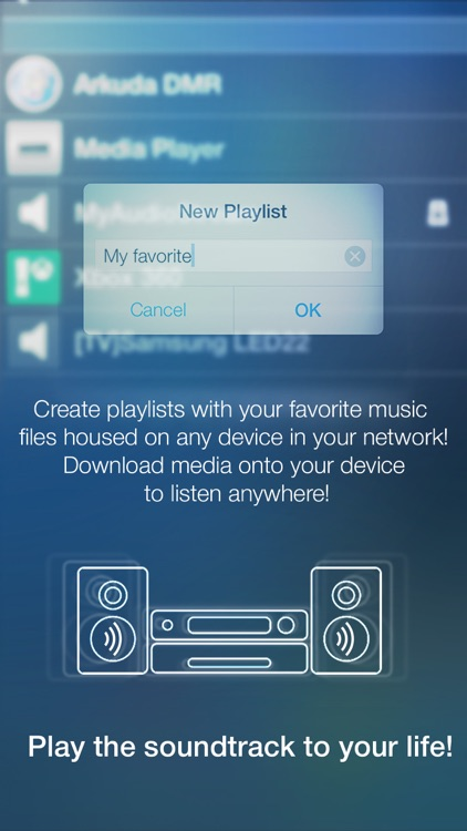 MyAudioStream Lite UPnP audio player and streamer screenshot-4