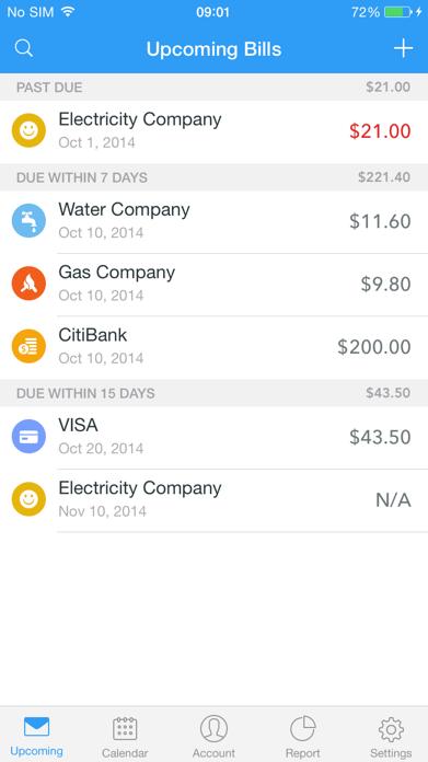 Bill Keeper - Bill Manager & Reminder Screenshot