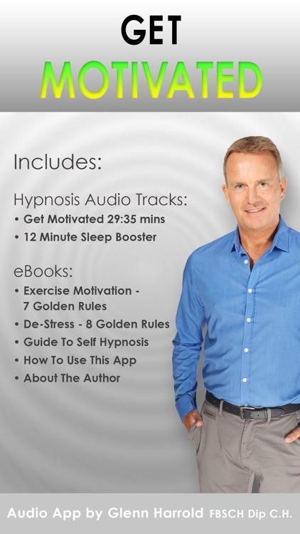 Get Motivated - Positive Motivation Hypnotherapy by Glenn Harrold