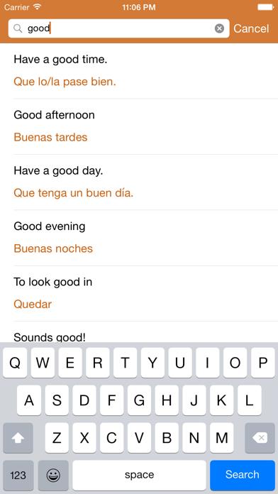 Spanish Phrasebook: Conversational Spanishのおすすめ画像4