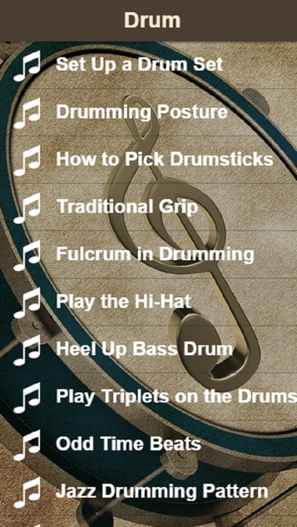 Drum Lessons - Learn How To Play The Drums Easily