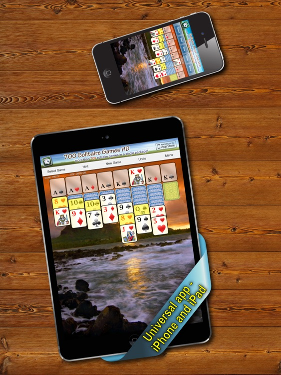 700 Solitaire Games HD Free for iPad screenshot-4