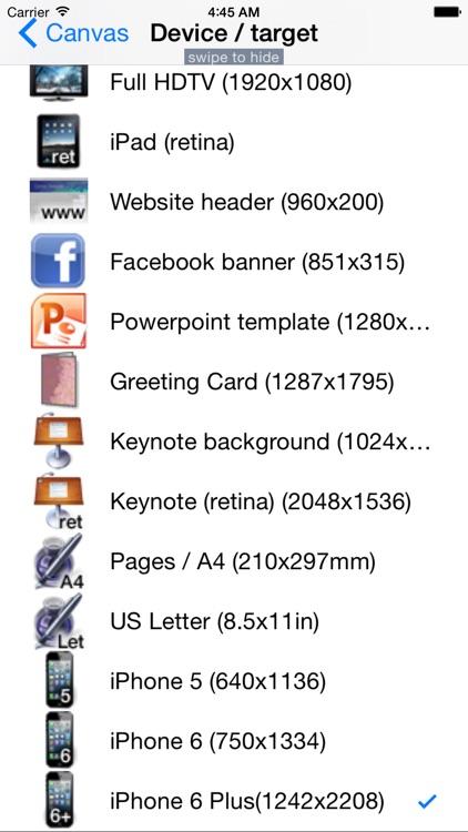 Canvas Designer screenshot-4