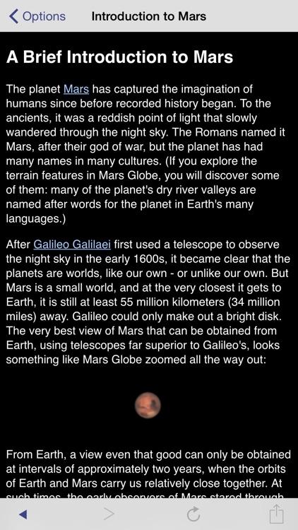 Mars Globe screenshot-4
