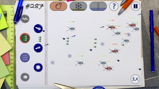 A Notebook Wars - Free Doodle Game screenshot one