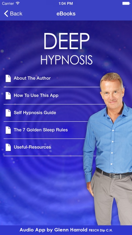 Deep Hypnosis with Glenn Harrold screenshot-3