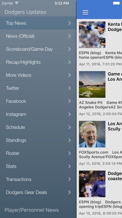 News Surge for Dodgers Baseball News Pro