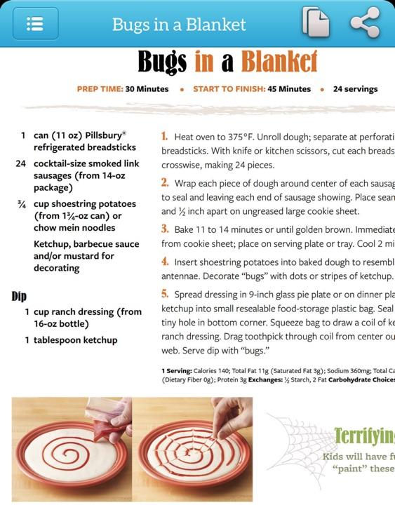 Halloween - TK Photo Cookbook for iPad screenshot-4