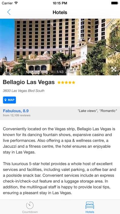Vegas Vacation Countdown screenshot-3