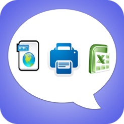 ‎Export Messages - Save Print Backup Recover Text SMS iMessages