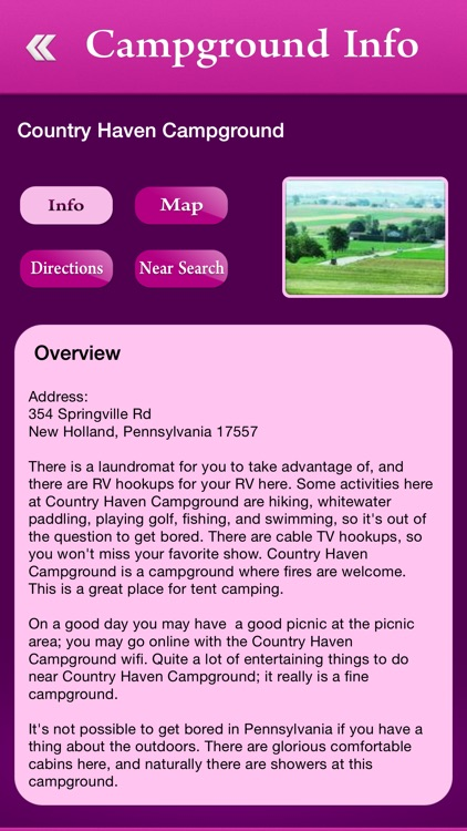 Pennsylvania Campgrounds & RV Parks screenshot-2