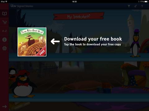 Signed Stories screenshot