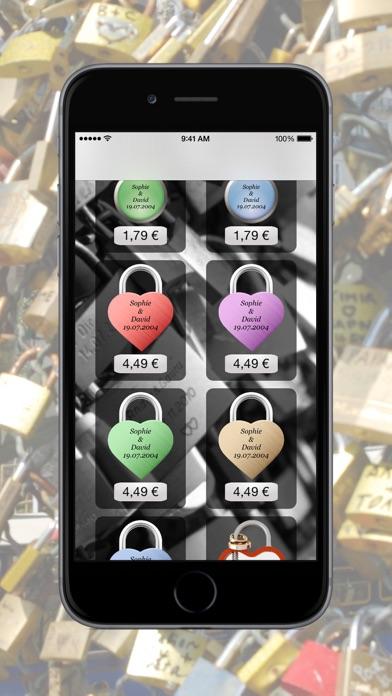 LoveBridge App - Love lock virtual - Virtuelle LiebesschlösserScreenshot von 5