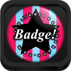 Button Badge Maker HD - with PDF and AirPrint Options icon