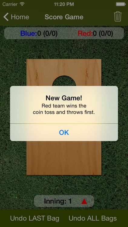 Cornhole Scorer screenshot-2