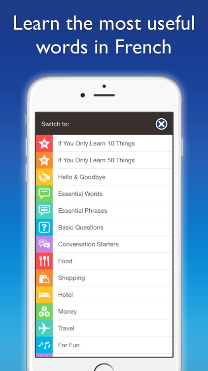 French by Nemo – Free Language Learning App for iPhone and iPad screenshot-4