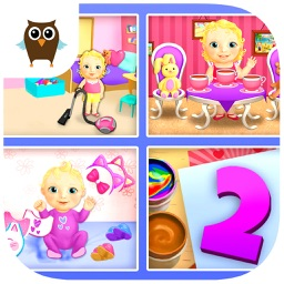 Sweet Baby Girl Dream House 2 - Daycare, Cleanup and Playtime