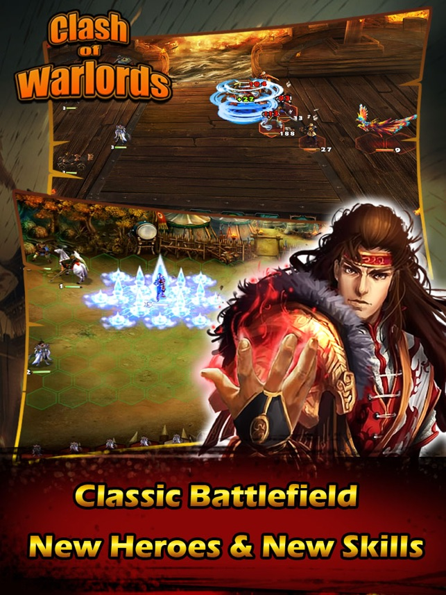 Clash Warlords Screenshot