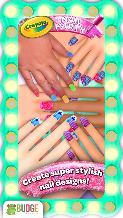 Crayola Nail Party – A Nail Salon Experience