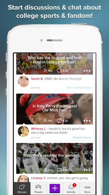 College Gameday Sports Chat and Fan Community