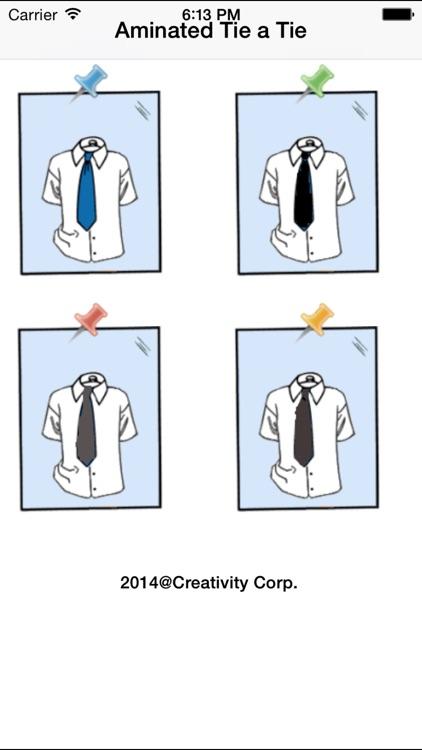 Animated Tie a Tie