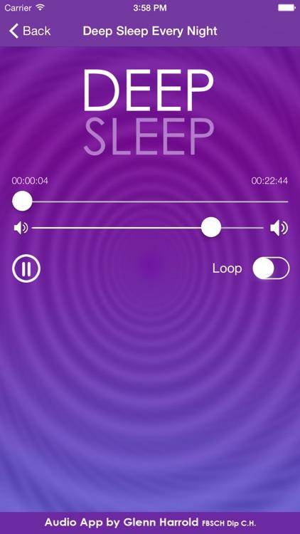 Deep Sleep by Glenn Harrold, a Self-Hypnosis Meditation for Relaxation