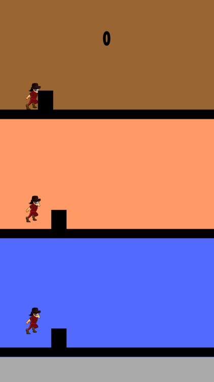 Hurry - Make The Thief Jump Before He Crashes!