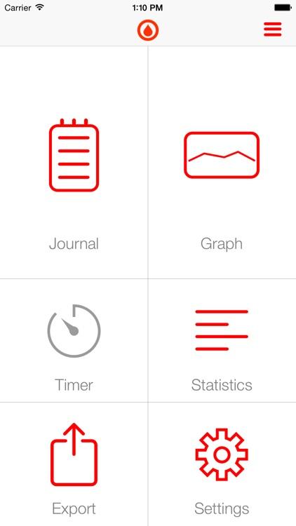 Gluco - the app for diabetics screenshot-3