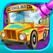 Wheels of the Bus - Kids Cars Salon Game
