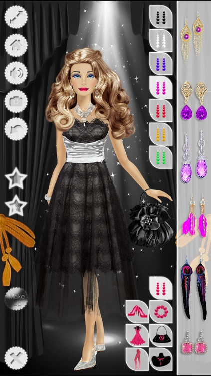 Makeup, Hairstyle & Dressing Up Fashion Princess Free screenshot-3