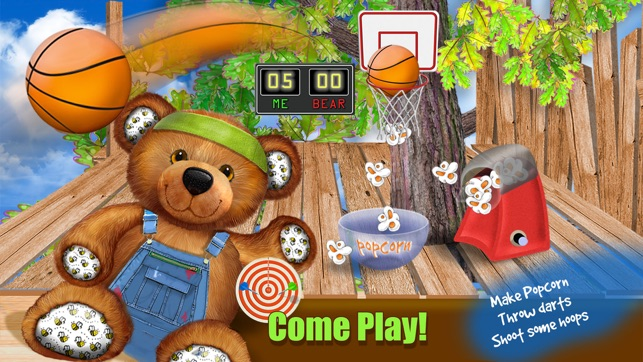 Teddy Bearu0027s Treehouse   Build Decorate U0026 Paint Your Toy House    Educational Kids Game On The App Store