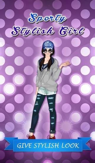 点击获取Sporty Stylish Girl Dress Up - Cute fashion game for girls and kids