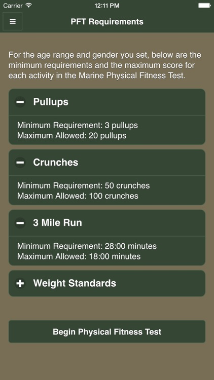 USMC Fitness screenshot-1