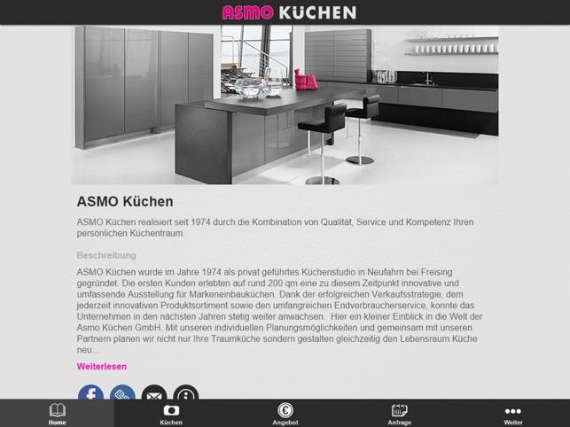 Asmo Küchen Rosenheim – Wohn-design