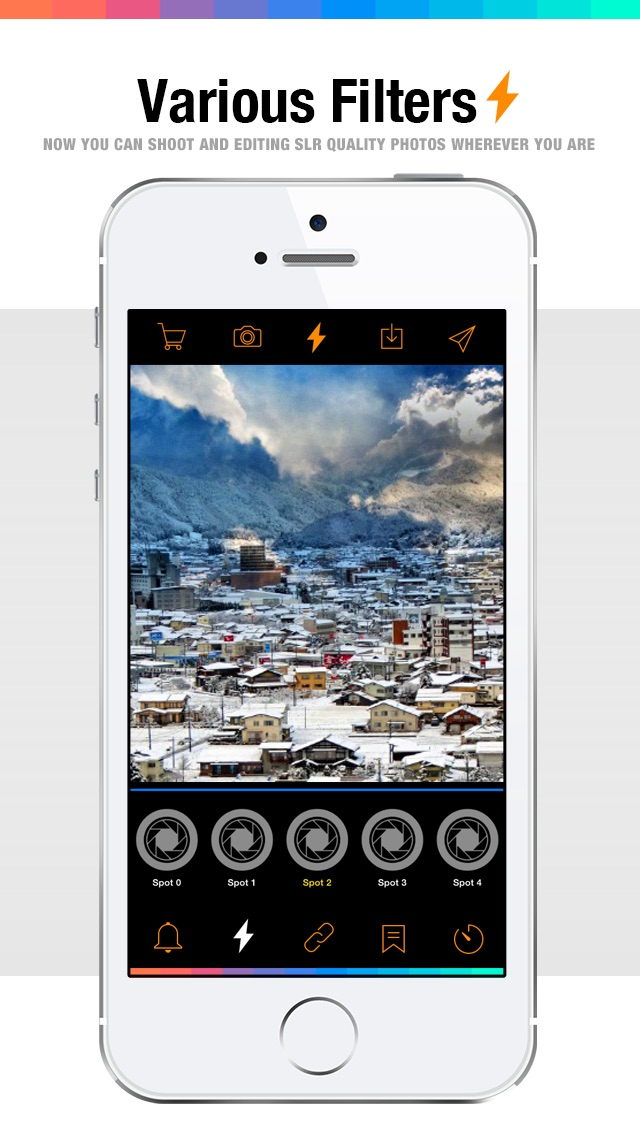 Screenshot #2 pour Live FX - camera effects plus photo editor