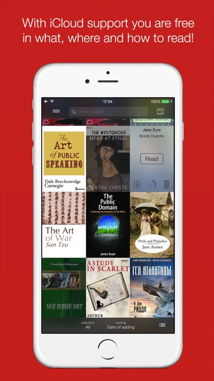 i2Reader Cloud - cloud-sync fb2, epub ebook reader screenshot-4